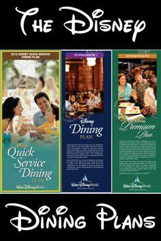 The Disney Dining Plans at Walt Disney World can help you save money and have a worry free vacation. You won't have to pay attention to how much entrees cost at your table service restaurants or worry if your teenager is going to order something that is out of your budget. Since the dining plan is paid for in advance with your Walt Disney World package, there is no additional cost once you arrive on property except for tips at the table service restaurants.