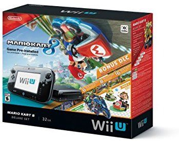 7bdf0f06918 Amazon.com: Nintendo Wii U 32GB Mario Kart 8 (Pre-Installed) Deluxe ...