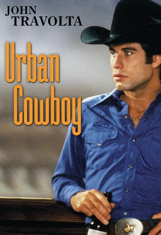 """urban cowboy - """"are you a real cowboy?"""" """"'pends on what you think a real cowboy is...."""""""