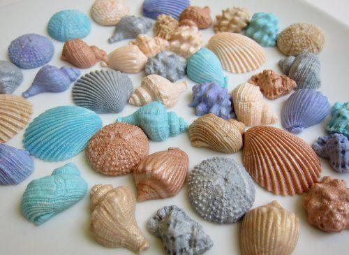 Multi-color Edible Seashell Cupcake Toppers (42 Pieces) DeliciousArts http://www.amazon.com/dp/B00DSTA8SE/ref=cm_sw_r_pi_dp_jw.Ztb0JCSTJJ0R2