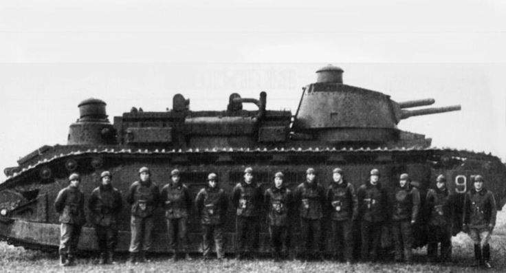 The Char 2C, French heavy tank 1930s: