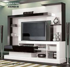 muebles modernos para tv buscar con google