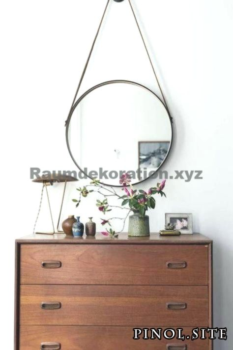Unbelievable Home Accessories – Glade Design with Dresser and Round Mirror, Retro, Glade, Home, Home, Egg
