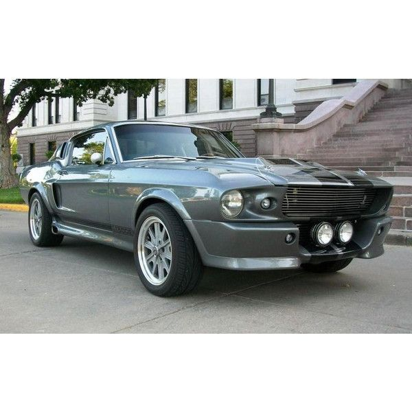 1968 Ford Mustang Fastback GT500 Shelby For Sale ❤ liked on Polyvore featuring home and home decor