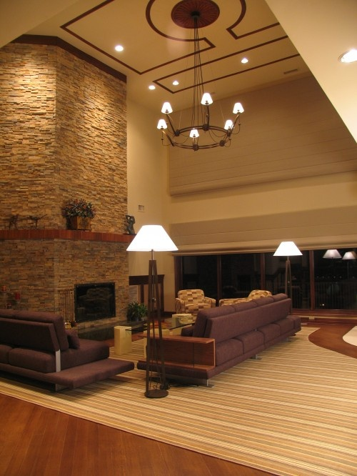 Love if i ever own a home with 20 ft ceilings i 39 ll make - Living room home decor fort langley ...