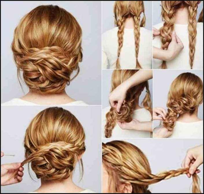 Make your own hairstyles #Ladies #Light #Long hair #Blond #Elegant