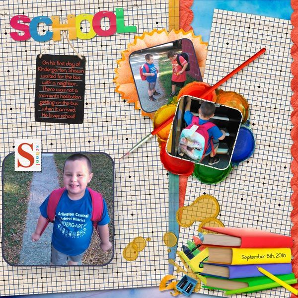 Layout by moog. Kit: Back to School by Scrapbird Designers collab http://scrapbird.com/kits-c-446/scrapbird-collab-c-446_113/back-to-school-p-18246.html