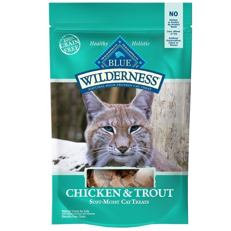Blue Wilderness Chicken and Trout Cat Treats - 2 oz.(2Pack) >> Additional details at the pin image, click it  : A - N - I - M - A - L - S ~~ PINS FRIENDS