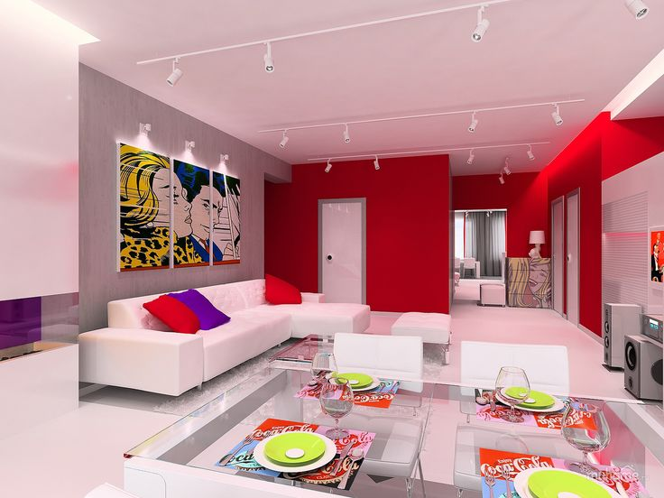POP art style home