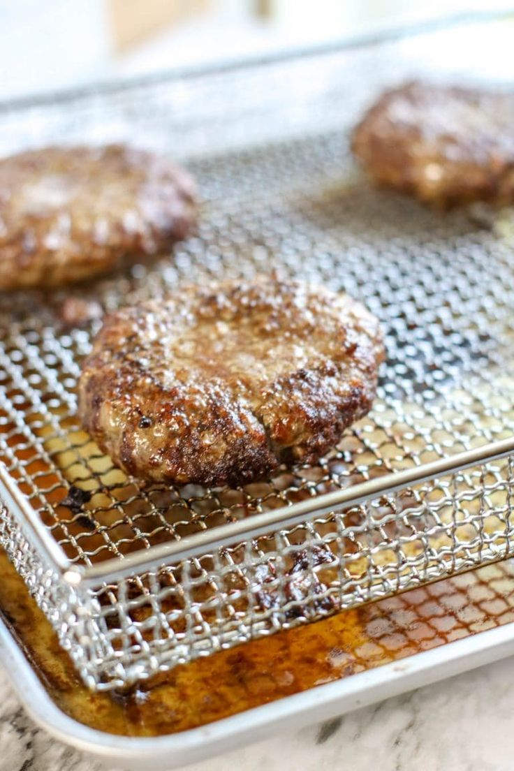 Air Fryer Hamburgers I Don't Have Time For That! Air
