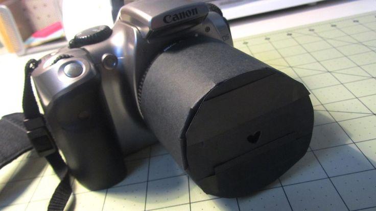 How to make a camera lens. Bokeh Lens - Step 13
