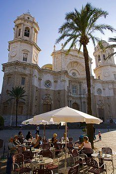 Cathedral, Cadiz, Andalucia, Spain