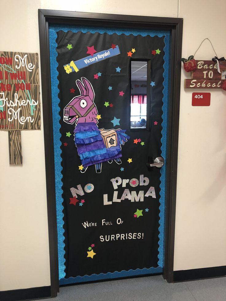 Fortnite Loot Llama Homecoming Class Door Pi 241 Ata