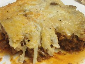 Tracy's Low Carb Journey: Low Carb Lasagna