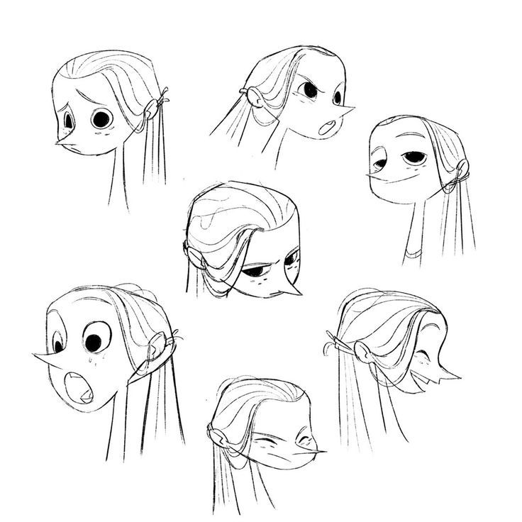 Expression Sheet For My Character Characterdesign Illustration Character Design Character Design Animation Character Sketches