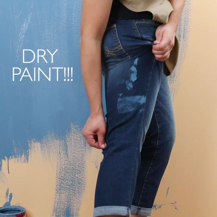 Remove pesky paint stains from clothes and carpets with this easy hack!