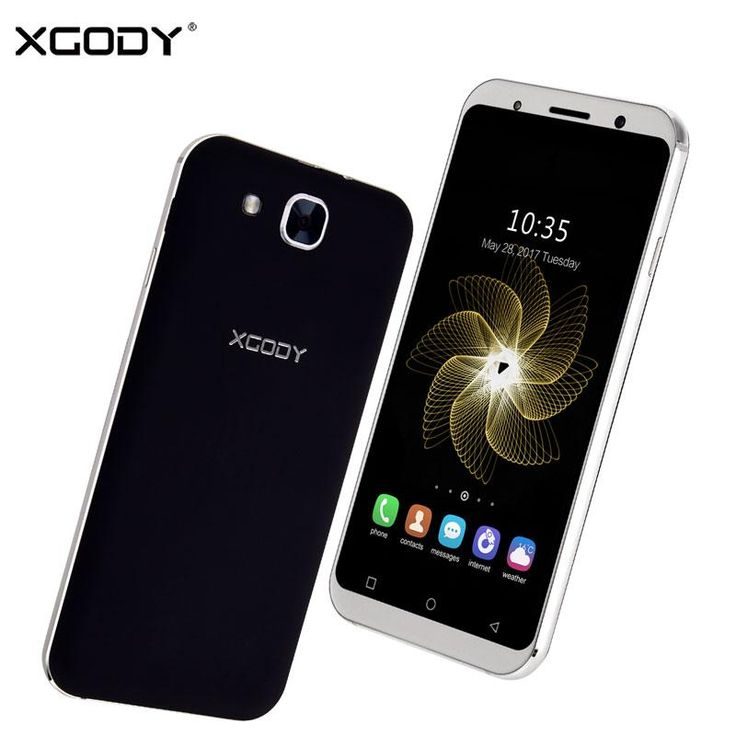 Buy Wallmart.win Xgody S11 Smartphone 5.3 '' 1GB RAM 8GB ROM Quad Core Dual SIM Cards Android 5.1 Telefone Celular 3G Unlocked Mobile Cell…