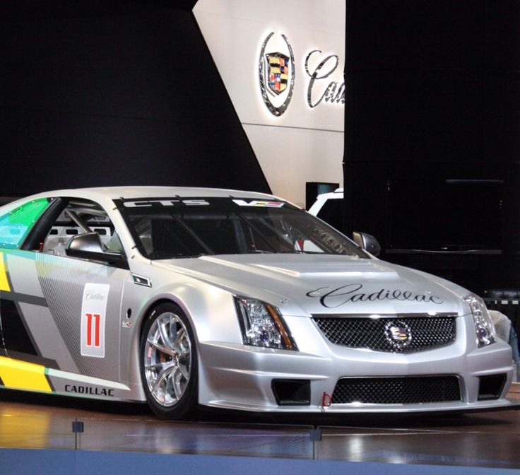 2011 Cadillac Cts V Coupe Race Car