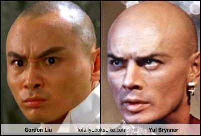 Gordon Liu Totally Looks Like Yul Brynner