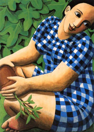 Planting Out by Anita Klein. Greeting Card £2.00