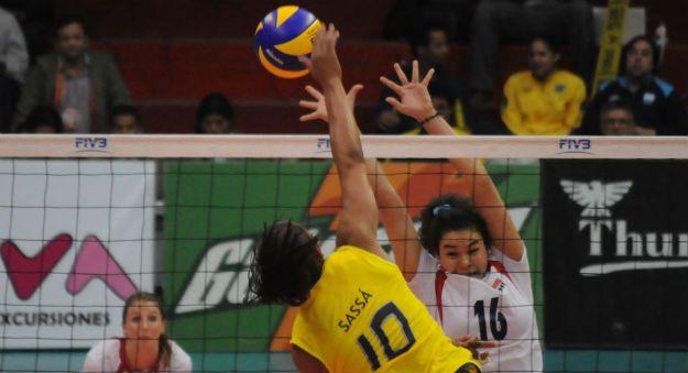 Seleção Feminina de Novas: Brasil perde para a Rússia