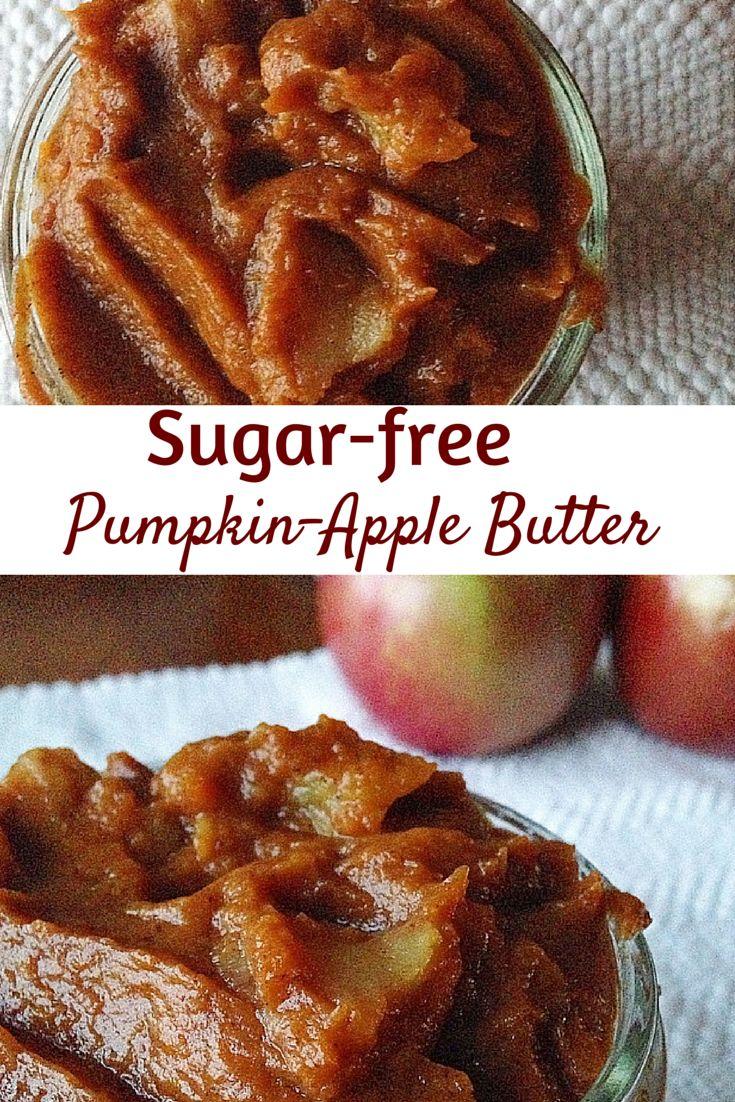 You won't believe this Pumpkin-Apple Butter is #sugarfree ! #vegan #paleo #glutenfree