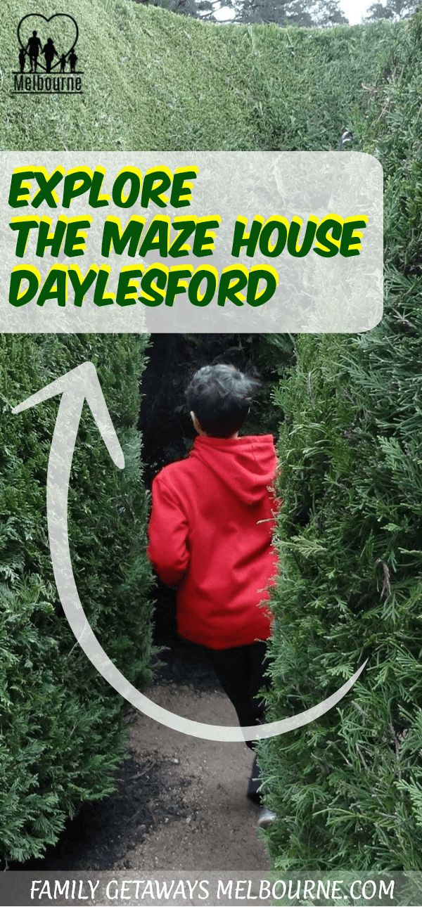 Visit the Maze House in Dalyesford for a fun day out in the Victorian countryside. A Melbourne Maze just a less than a 2hrs drive from the city. Makes for a great day trip from Melbourne. Click the image for more information.