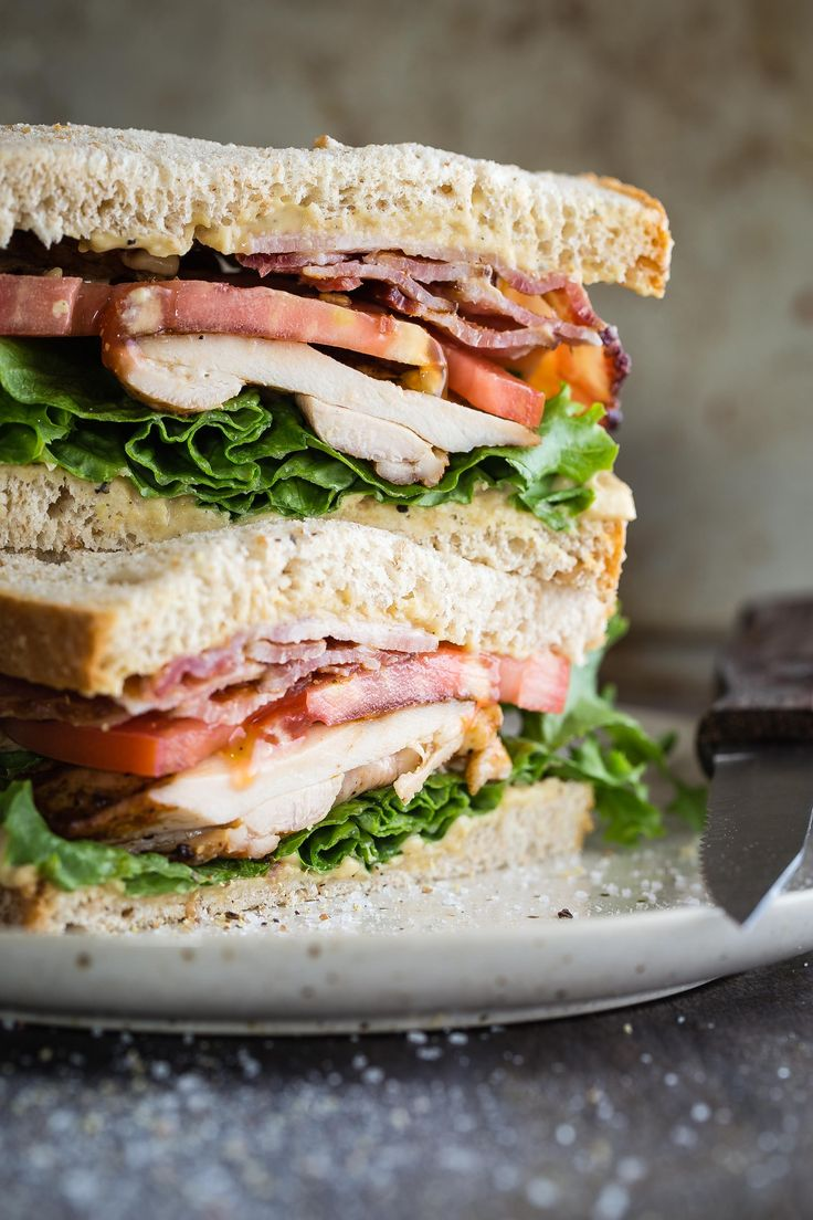 Crispy fresh lettuce, ripe tomato slices, grilled chicken and salty bacon are what makes this bacon lettuce tomato sandwich the best. Skip the mayonnaise for some new Sabra Hummus Spread and you'll love me forever!