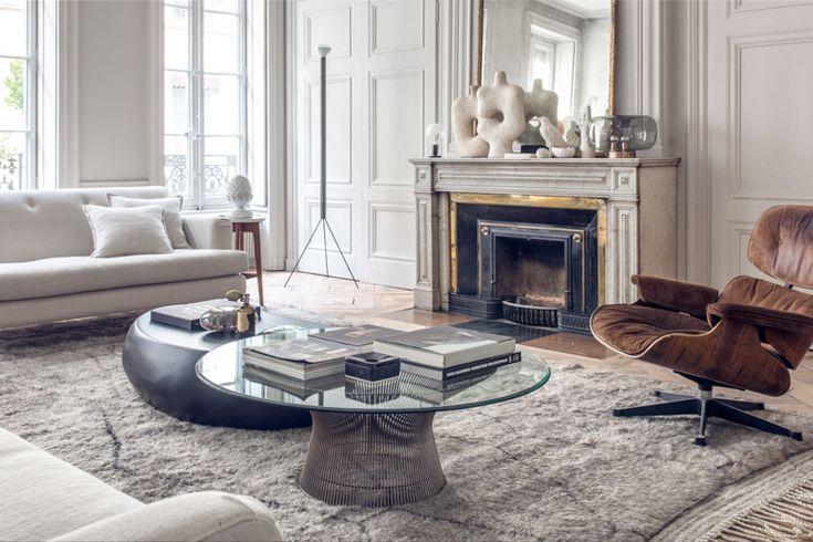 Living room haussmanien