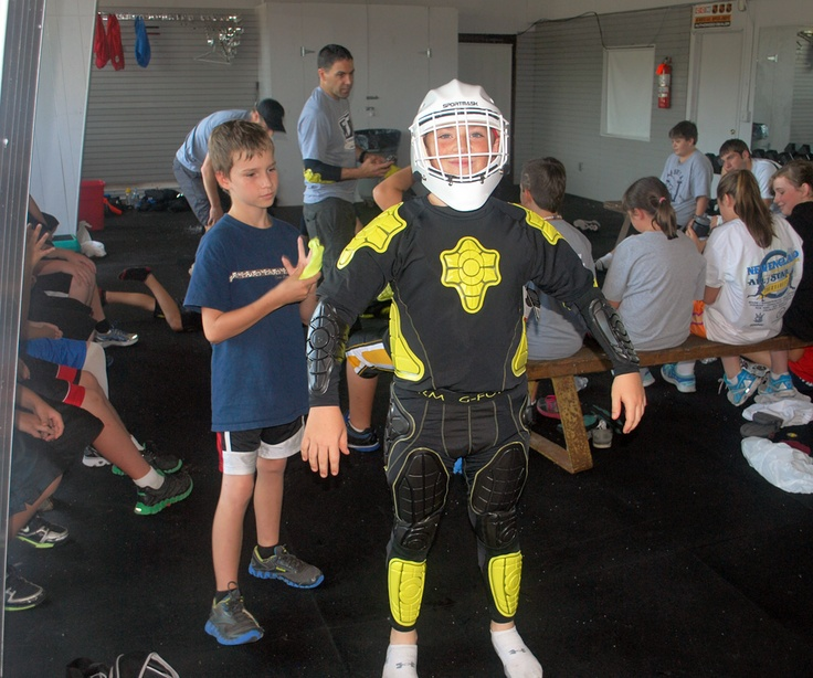 G-Form visits the Tim Thomas Hockey camp to show off our latest ...