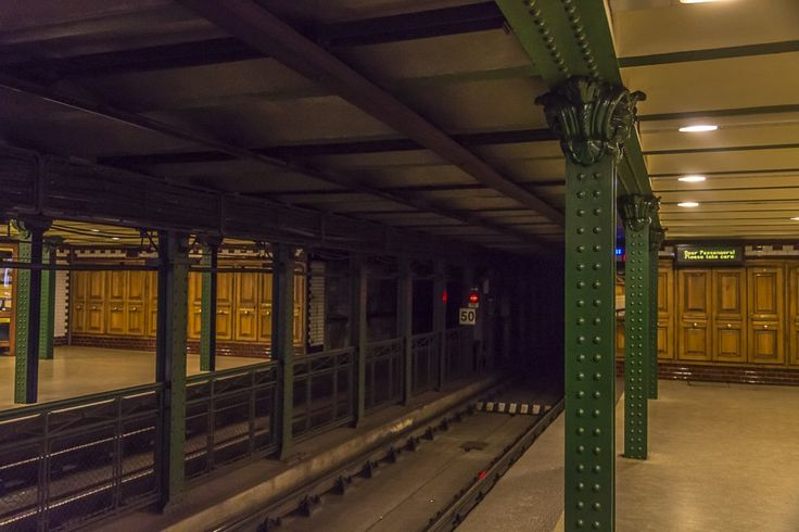 M1 - The millennium metro line - Budapest has the second oldest metro line in the world
