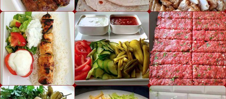KEBAB- Mina bästa recept på kebab och goda tillbehör