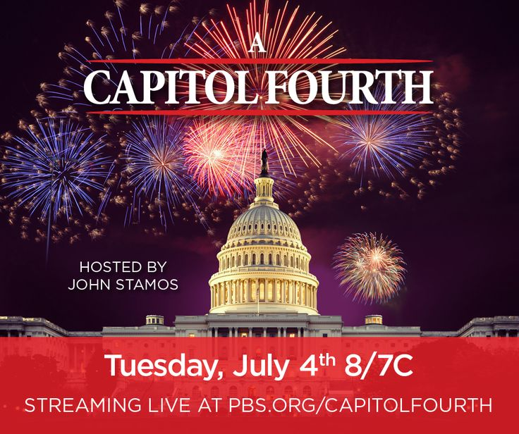 Please tune in on Tuesday, July 4th, 2017 on PBS to help us celebrate America's 241st birthday and see our amazing talent #July4thPBS #TheFourTops #YolandaAdams #KelliePickler #TraceAdkins #SamMoore #LauraOsnes #TheBluesBrothers #ChrisBlue #JohnStamos #MarkMcGrath #SofiaCarson #TheBeachBoyhttp://www.pbs.org/a-capitol-fourth/home/