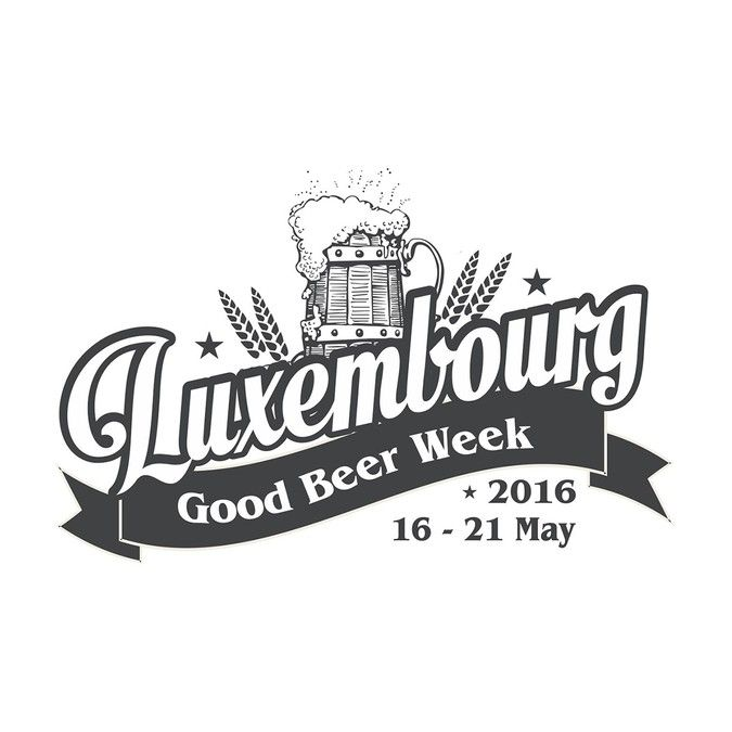 Create a logo for the first annual Luxembourg Good Beer Week! by ELVIS•