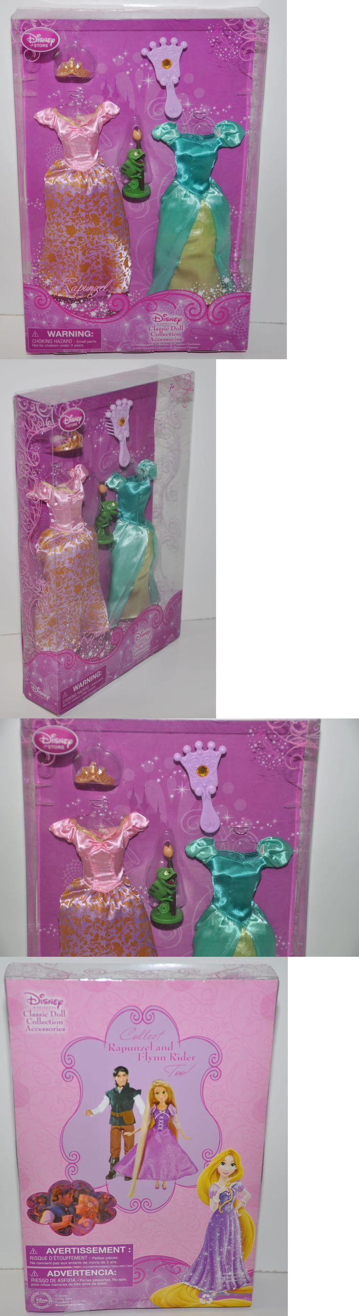 Disney Princesses 146030: Disney Store Classic Doll Collection Rapunzel Princess Wardrobe Clothes Pascal -> BUY IT NOW ONLY: $49.95 on eBay!