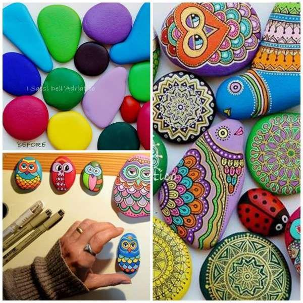 Les 25 meilleures id es de la cat gorie pots de fleurs peints sur pinterest des pots en argile - Idees loisirs creatifs faciles ...