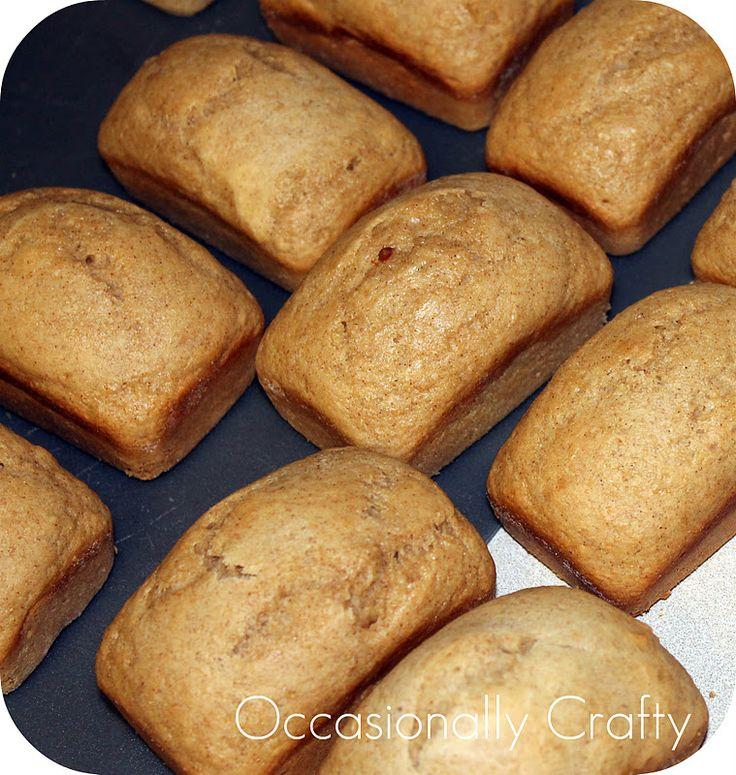 Occasionally Crafty: Cinnamon Applesauce Quick Bread
