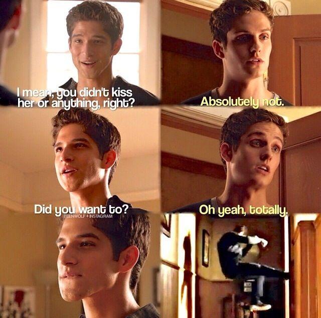 Teen Wolf Isaac and Scott