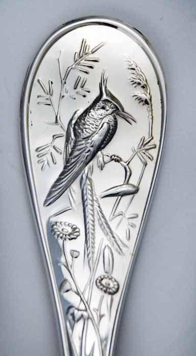 1stdibs | Tiffany Audubon Sterling Silver Flatware Set 135 Pieces