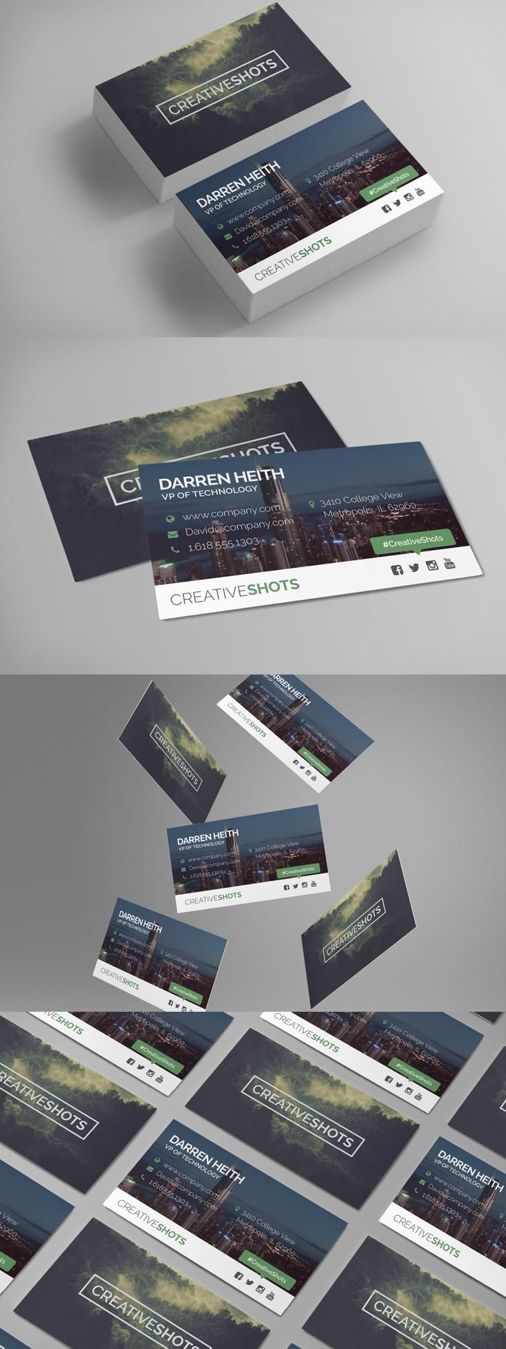 65 Best Cool Business Cards Images On Pinterest Business Card
