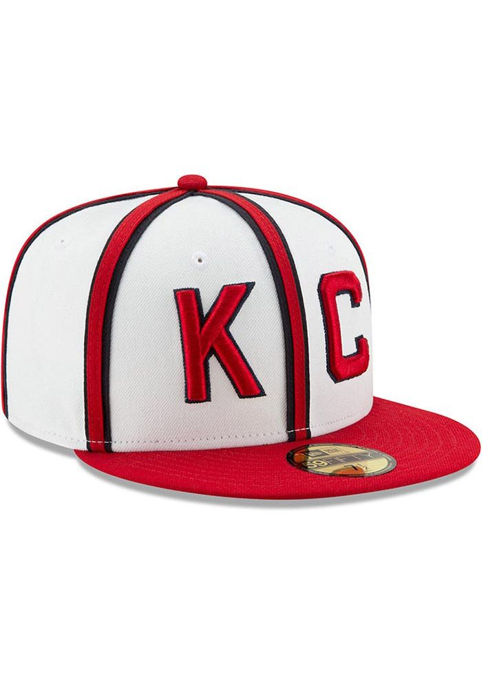 New Era Kansas City Monarchs Mens Brown 2017 Turn Back the Clock 59FIFTY Fitted  Hat - Image 2 61f93babf85a