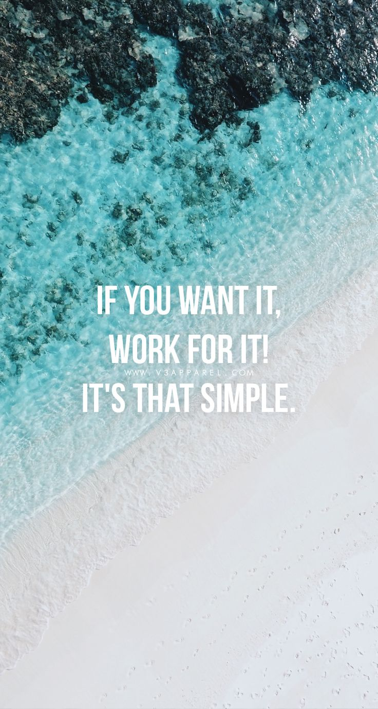 If you want it, work for it! It's that simple. Head over to www.V3Apparel.com/MadeToMotivate to download this wallpaper and many more for motivation on the go! / Fitness Motivation / Workout Quotes / Gym Inspiration / Motivational Quotes / Motivation