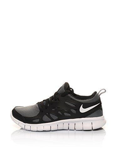 nike laufschuh free run 2 (gs) black/cool grey
