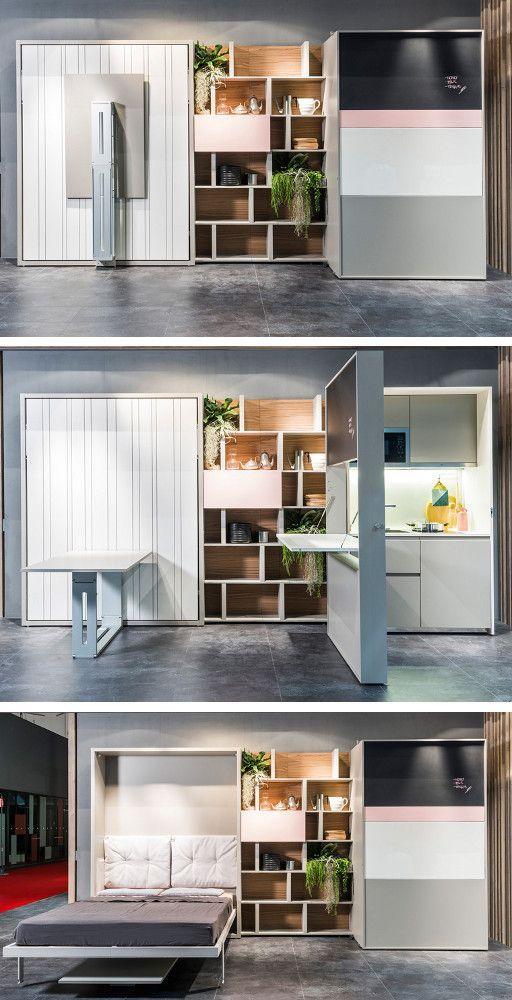 17 migliori idee su mobili per piccoli spazi su pinterest organizzazione spazio piccolo - Mobili per piccoli spazi ...