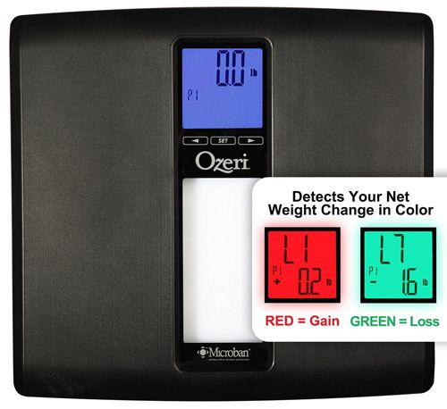 eri ZB20 WeightMaster II 440 lbs Digital Bath Scale with BMI and Weight Change Detection, Black