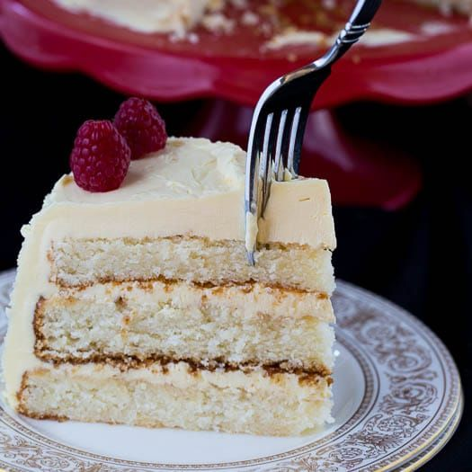 Exceptional recipes for basic desserts like white or chocolate cake can be so hard to find. This White on White Cake with Jack Daniel's Buttercream is a recipe from The Pastry Queen: Royally Good Recipes from the Texas Hill Country's Rather Sweet Bakery & Cafe