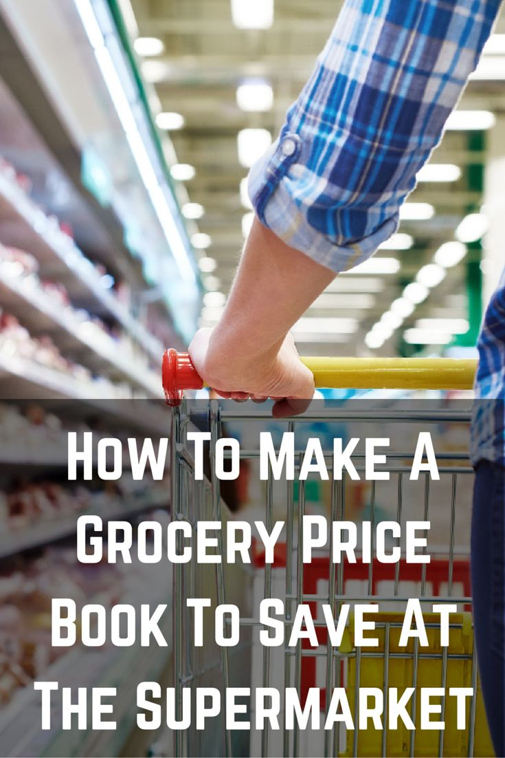 How to Make a Grocery Price Book to Save at the Supermarket. With a price book in hand, you can comparison shop for every item on your list, just like you do for big purchases.