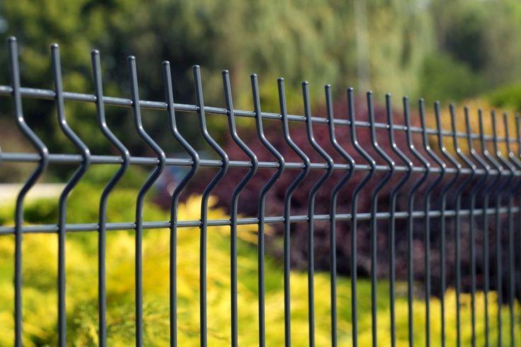 Panele ogrodzeniowe 3D w kolorze ANTRACYT , Standardowa wysokość - 1,03 , 1,23 , 1,53 , 1,73 , 2,03 m , http://ogrodzenia24.eu/panele-antracyt-c-3_37_65.html