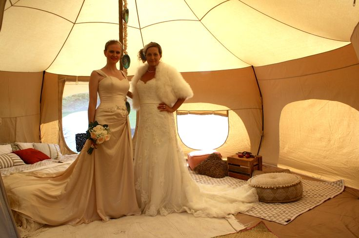 Bangalow Wedding Expo produced these lovely ladies to adorn my Honeymoon Bohemian Tent with their glamorous presence. #Byronbay #weddings #glamping #accommodation #party
