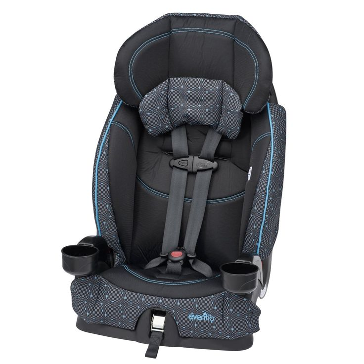 Evenflo Chase LX Harnessed Booster Car Seat  Suitable for Weight range: 22 - 110lbs  Available Colors: aquaoptical, reese, laguna, coral floral, olivia and dunagan  http://babyessentials101.com/top-ten-sellers-booster-car-seats-2015/  #toptenboostercarseats